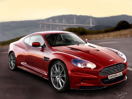Aston Martin, por Daniel Diaz