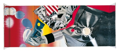 Cápsula flamenco de James Rosenquist. (Flamingo Capsule) 1970 .