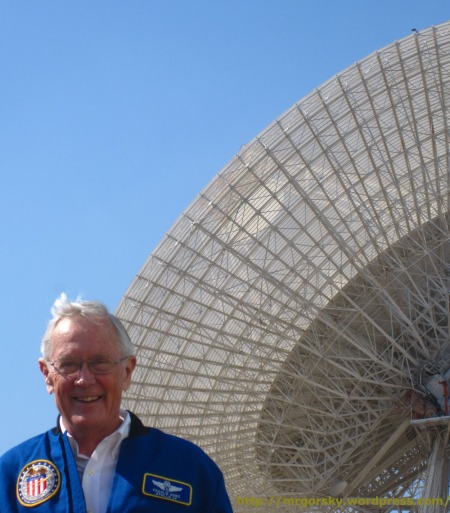 Charlie Duke en el MDSCC (España) - 2012