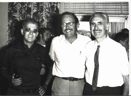 De izquierda a derecha: Luis Ruiz de Gopegui, Dan Hunter y Manuel Bautista.