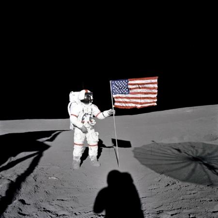 (Apolo 14. Comandante Alan Shepard)