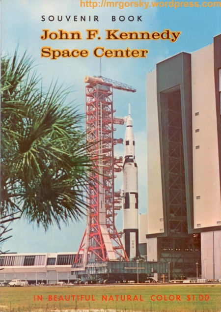 01 JFK Space Center Souvenir Book