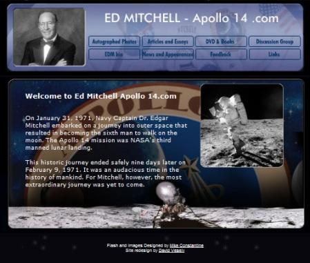 Antigua web oficial de Ed Mitchell