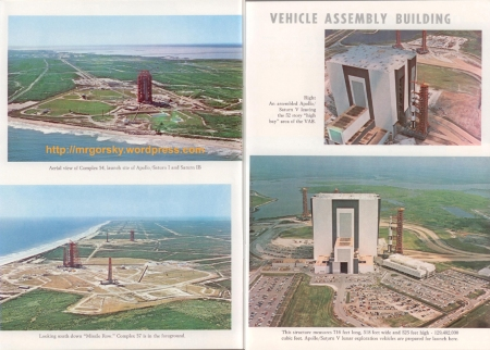 10 y 11 JFK Space Center Souvenir Book