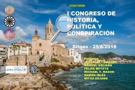 Congreso historia politica conspiracion - Sitges - 2016