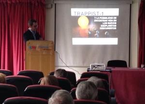 Conferencia Asociacion Medicos Hospital Gregorio Marañon - 2017 - mrgorsky - espacio - exoplanetas - trappist - madrid - cofis - aecc - bkrio